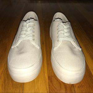 NW NWOT ASOS Canvas Platform Sneakers